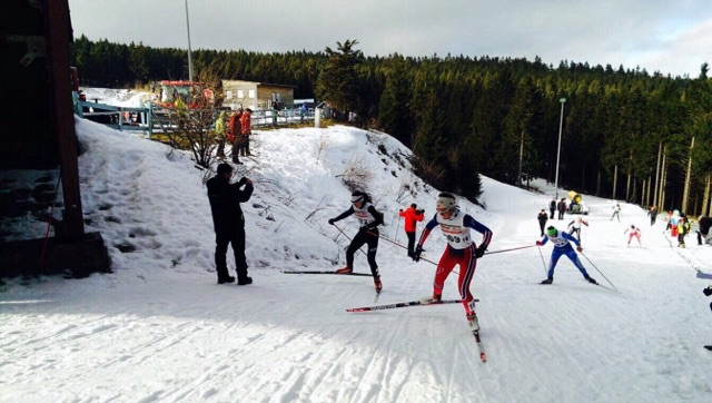 Hannah Ellgass in Oberhof Sprint FT